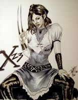 Steam Punk X23 By DW Miller by ConceptsByMiller