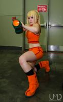Zero Mission Samus by BleachcakeCosplay