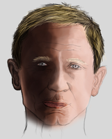 Daniel Craig Face by CAmpoo691