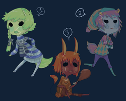 Sweater Adopts - CLOSED by kimasura