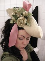18th century hat for project by AIMAccessoirDesign