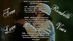 Rumbelle Vows by EmilieBrown