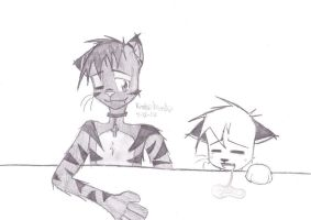 Sitting at the Table by Nieckia