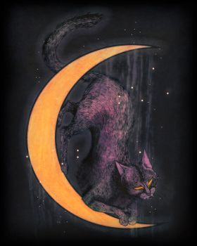 MoonCat by Crowtesque