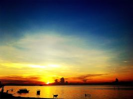 Sunrise Sanur Beach Bali, Indonesia. by syafiqulumam