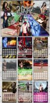 2012 Cosplay Deviants Calendar by CosplayDeviants