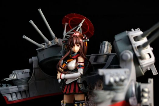 Black Backdrop Practice: Yamato with Rigs by gale015