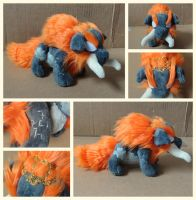 Beast Ganon Plushie by foxpill