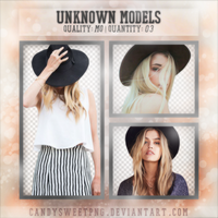 Png Pack 01 : Unknown Models by CandySweetPng