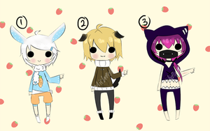 Adoptables 2 [CLOSED] by Mishierru