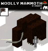 JurassiCraft: Woolly Mammoth by Dragonith