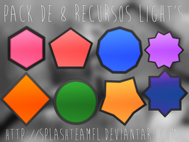 +Pack de recursos Lights l 8 recursos l. by againsthecurrent