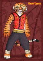 Master Tigress by KatrinaBonebrake