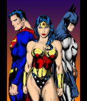 super trio by theundead01