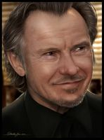 Harvey Keitel by Sheridan-J