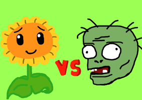 Plants vs Zombies Poster by naladraws