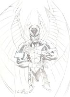 Archangel Pencils by GavinMichelli