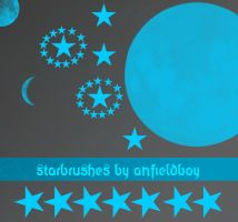 Starbrushes by Anfieldboy