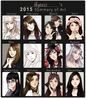 2015 Summary of Art by Hyeoii