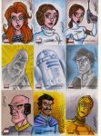 star wars galaxies 4 cards G6 by natelovett