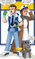The Master and the Doctor by ErinPtah