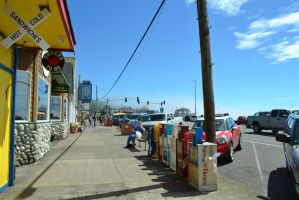 The colors of a beach strip by chanmanthechinaman
