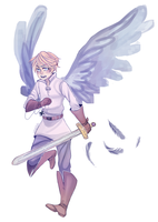 Guardian Angel Holy Rome by amarilloh
