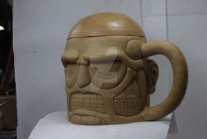 mug face titan , dare you to drink ? LOL by zhentluvy