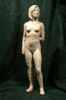 wax figure study by Cissell