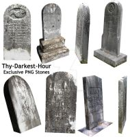 Halloween Stones by Thy-Darkest-Hour