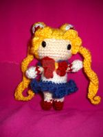 Chibi Sailor Moon by brightdarkness7