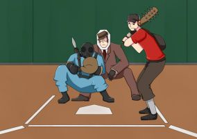 Team Fortress Baseball by ShadowCutie1