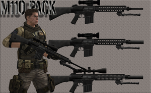 M110 Pack by ChristopherJRedfield