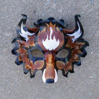 FireFox Leather Mask by merimask
