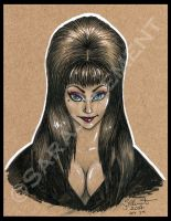 Elvira, Mistress of the Dark by TabathaZee