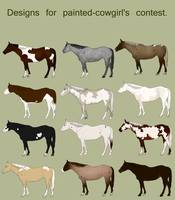 Designs for painted-cowgirl by KaiAurora