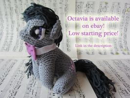 Knitted Octavia Plushie (for sale on ebay) by haselwoelfchen