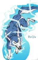 My Version of Raiju by KadberryF