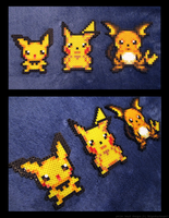Pikachu Evolution by Kin-Karo