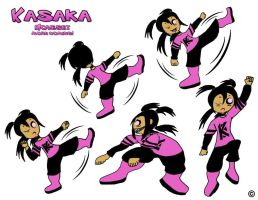 OC Kasaka Fighting Moveset by ThaMaJesticArtist
