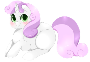 Sweetie Belle by Xeella