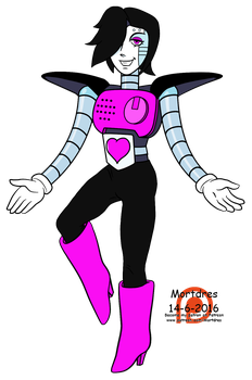 Mettaton EX - Undertale by Mortdres