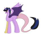 MLP Royal Adopt for BlackTempestBrony by MichellMinor