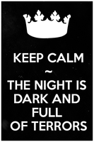 Keep Calm...The Night Is Dark.. by LiviaAlexandra
