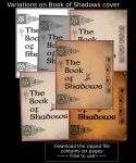 Book of Shadows covers by Sandgroan