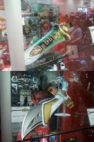 New Mighty Morphin Power Rangers Toy Weapons by DoctorWhoOne