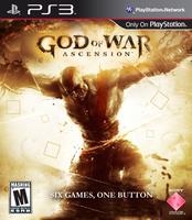 God of War Acension Cover by poseyGFX