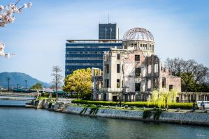 Hiroshima 70 years after   by Rikitza