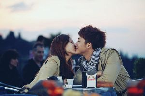 Eugene and Ki Tae Young kiss by SeoulInfinite