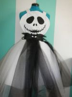 Jack Skellington Ballgown Cosplay Apron by DarlingArmy